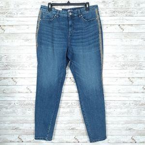 Style & Co Jeans Sz 14 Skinny Leg Curvy 692